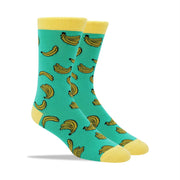 BaNaNa Socks by Patches and Pins Men's Crew