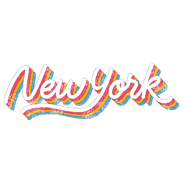 New York Rainbow T-Shirt