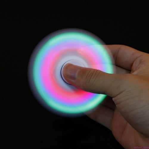 LED Flashing Fidget Tri-Spinner