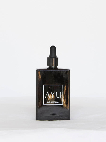 AYU Body Oil - Juniper Berry, Petitgrain & Vetiver