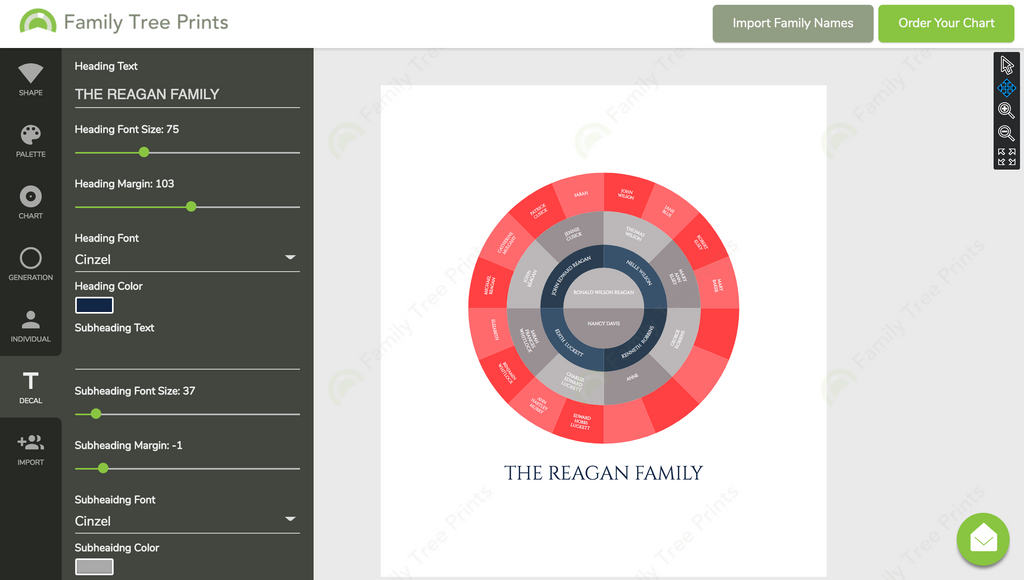 Make a Family Tree Using GEDCOM Import
