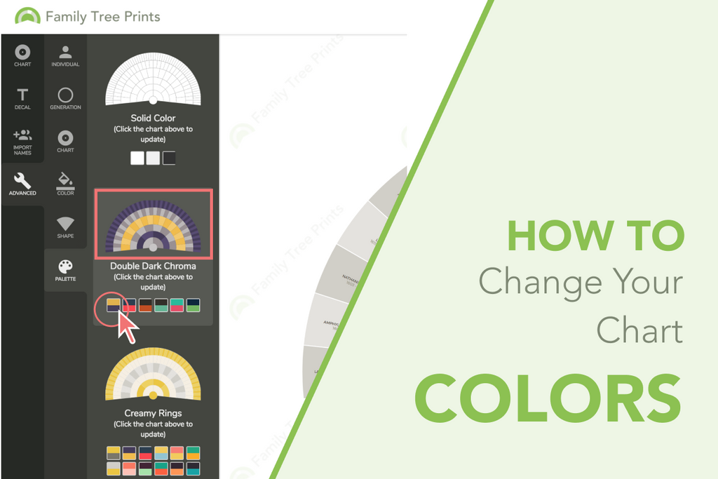 Family Tree Maker: How To Change Colors in Your Family Tree Chart