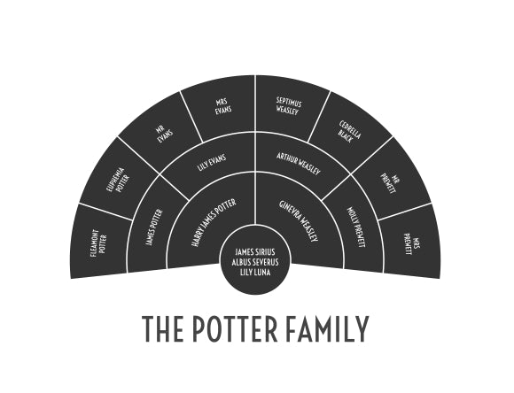 A Harry Potter Example of a Family Tree and What It Taught Me