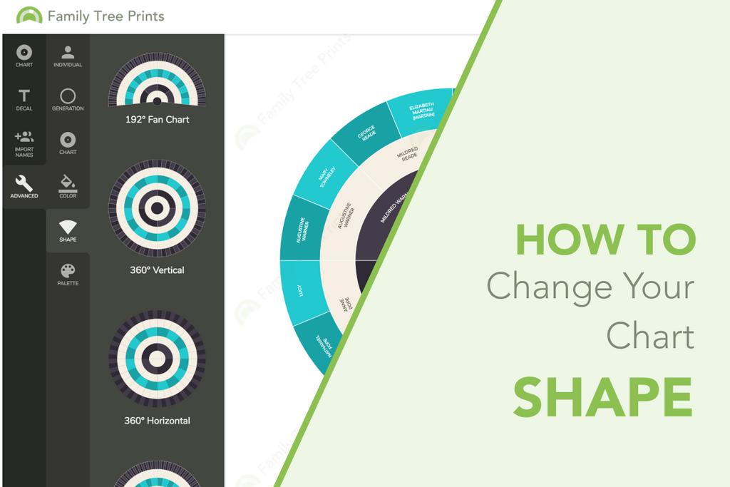 Family Tree Maker: How To Change Family Tree Shape