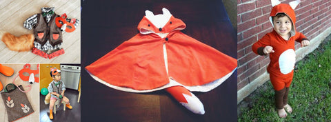 fox kids costume