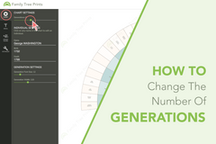 how to change the number of generations shown