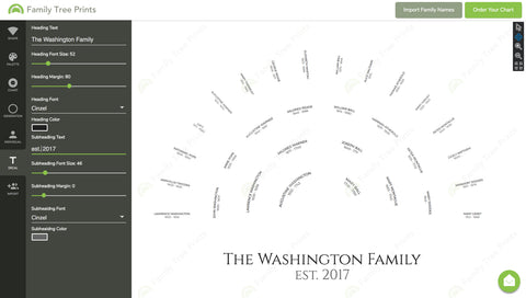6 Family Tree Templates Perfect For A Wedding Gift Family Tree Prints