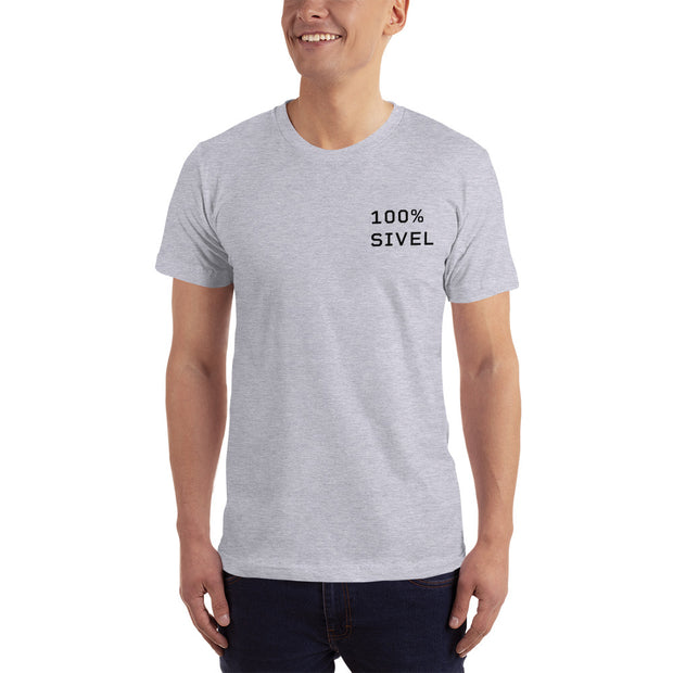 100% SIVEL Cotton T-Shirt by SIVEL + SHARP