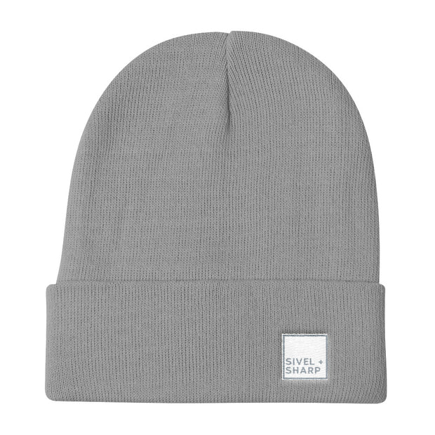 SIVEL+SHARP Logo Knit Beanie