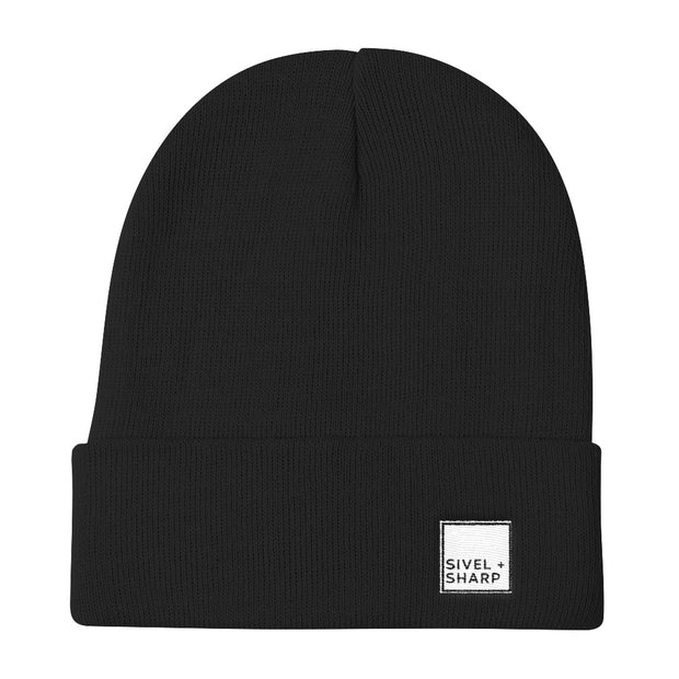 SIVEL + SHARP Logo Knit Beanie