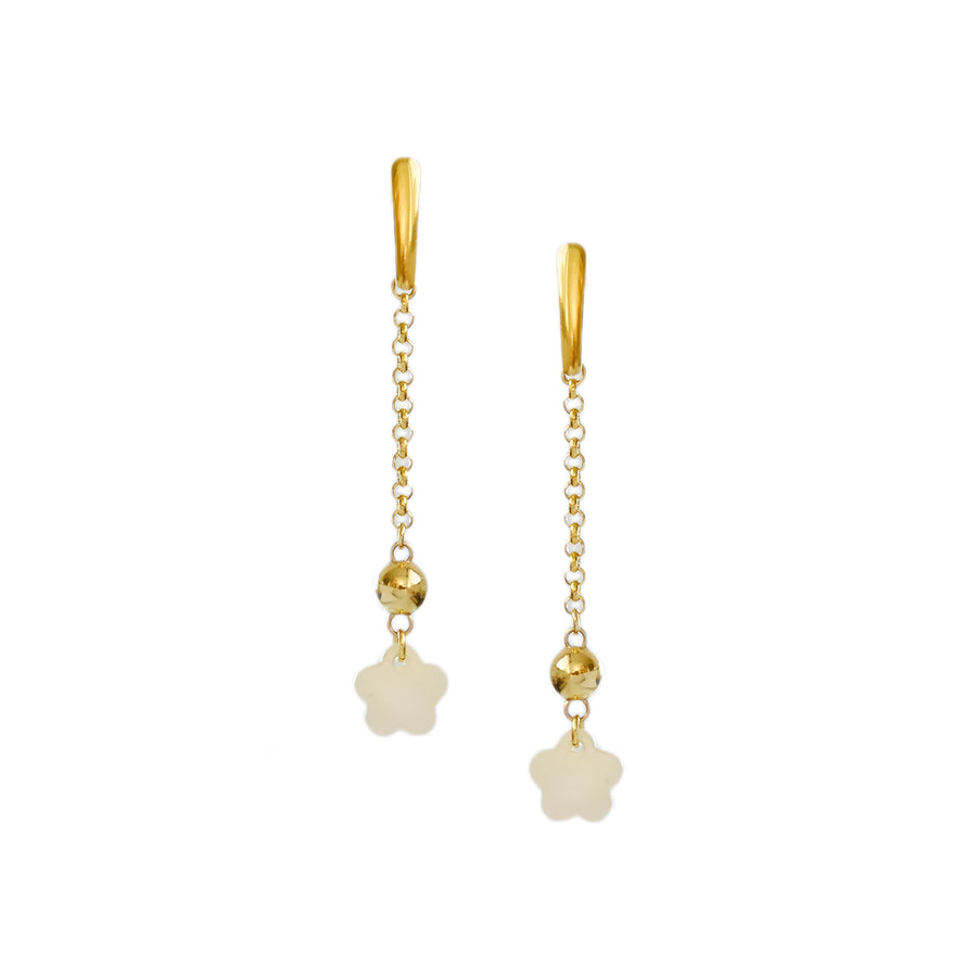 Fiore Earrings in Ivory