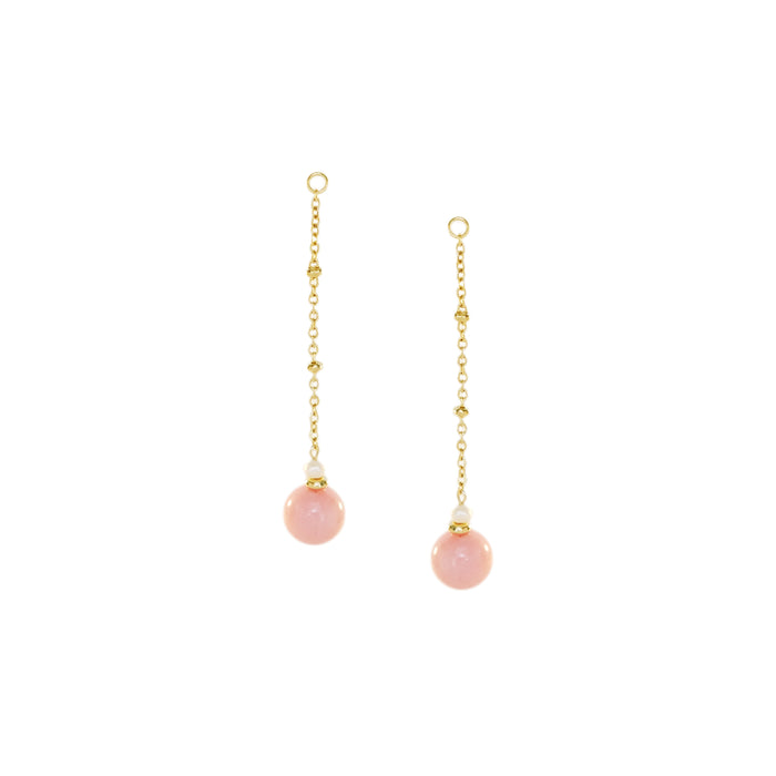 Anna Danglers in Baby Pink