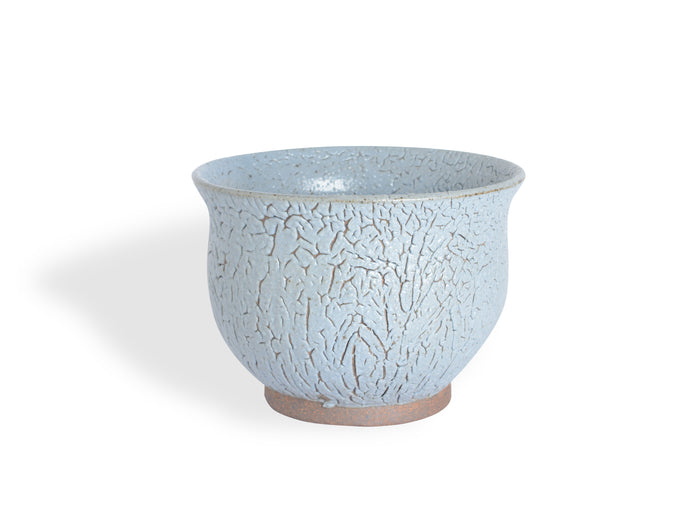 Textured Blue Gray Bowl