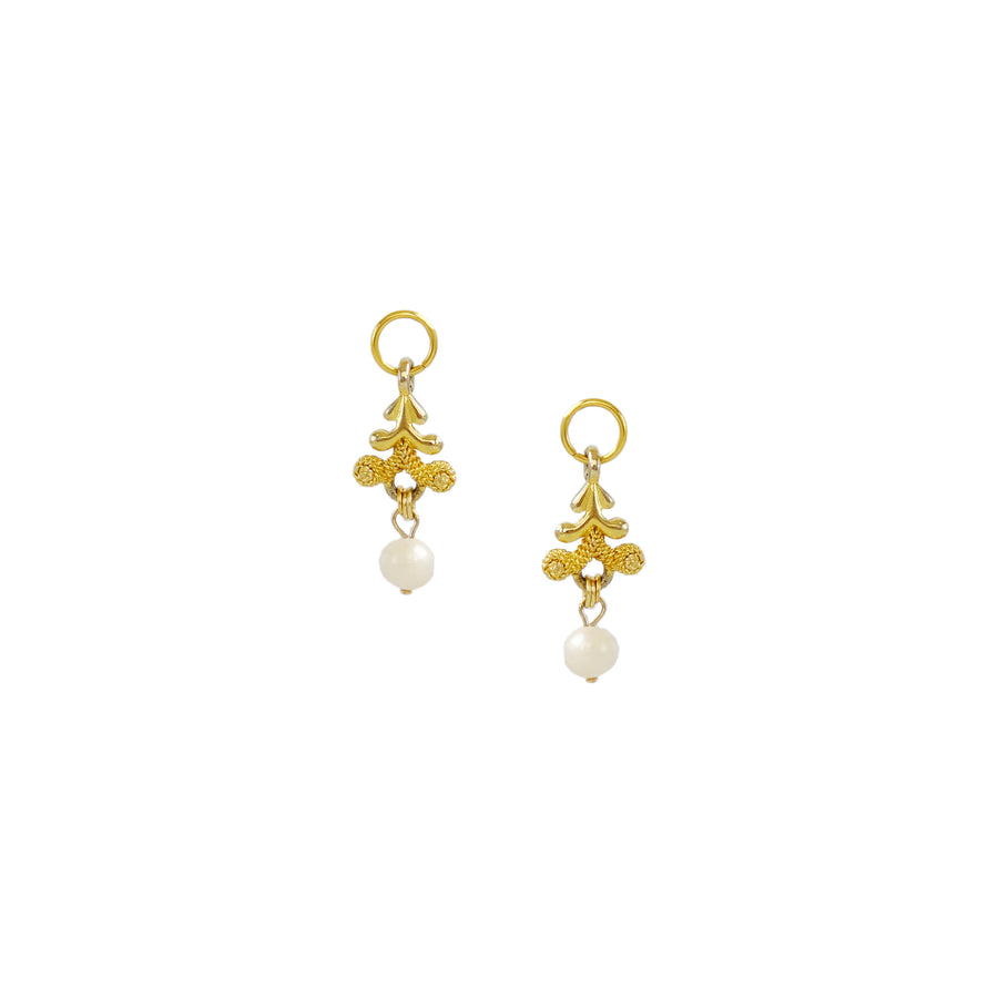 Fleur Charms in Gold
