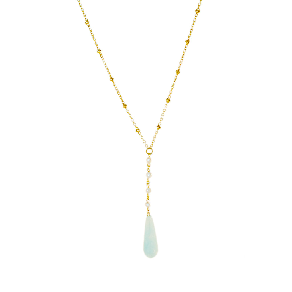 Heather Necklace in Sky Blue