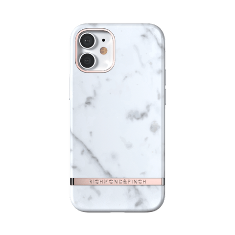 RICHMOND & FINCH iPhone 12 Series - White Marble