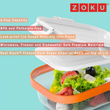 ZOKU Neat Stack™ 3pc Lunch Set