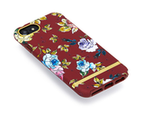 RICHMOND & FINCH Case - Red Floral / Gold