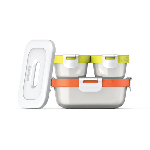ZOKU Neat Stack™ 7pc Food Storage Set