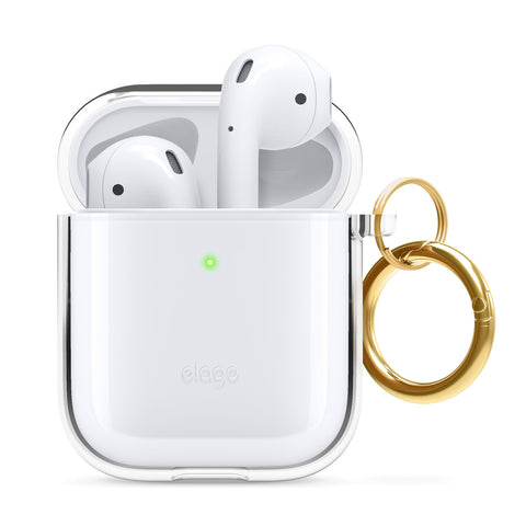 ELAGO Clear Hang Case for AirPods 1 and 2