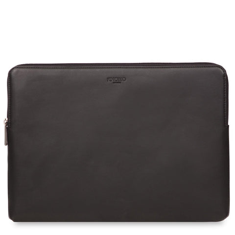"KNOMO Barbican Leather 15"" Laptop Sleeve"