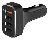 LAB.C 4-Port Qualcomm Quick Charge 3.0 Car Charger