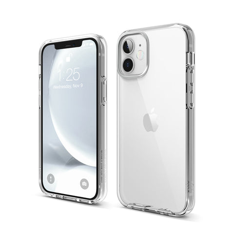ELAGO Hybrid Case for iPhone 12 Series - Crystal Clear