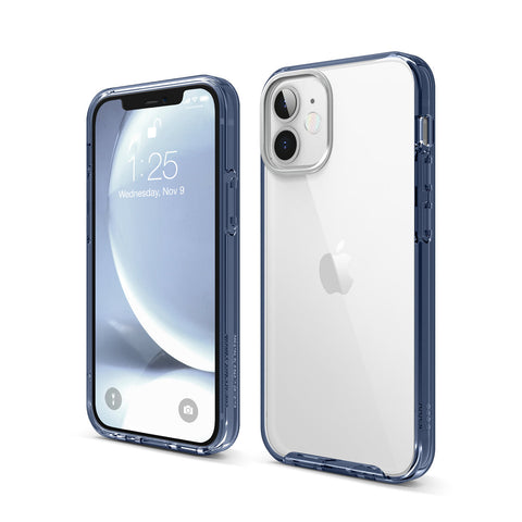 ELAGO Hybrid Case for iPhone 12 Series - Jean Indigo