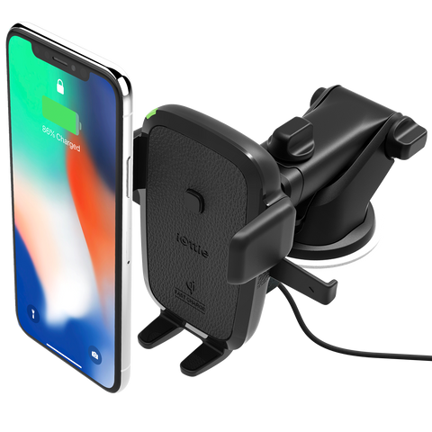 iOTTIE Easy One Touch Wireless Qi Fast Charging Mount