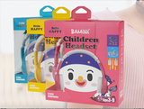 BAMiNi Hachu Happy Wired Headphones