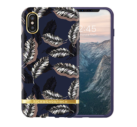 RICHMOND & FINCH Case - Botanical Leaves / Gold
