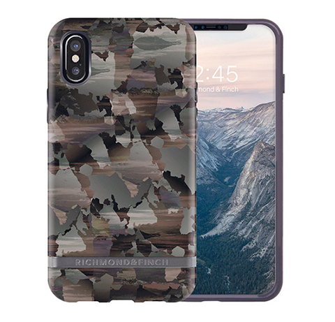 RICHMOND & FINCH Case - Camouflage / Silver