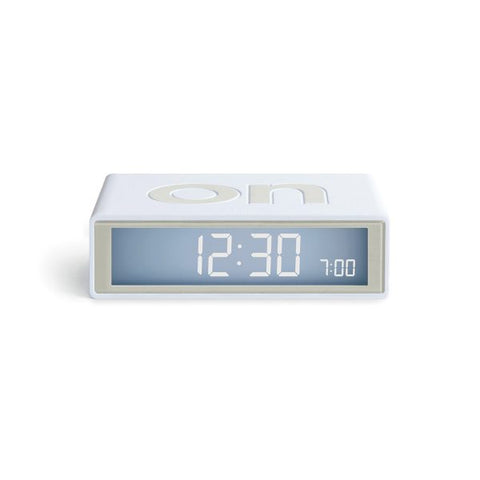 LEXON Flip+ Travel Clock