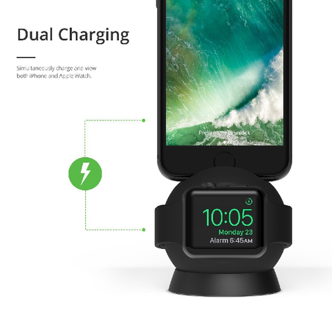iOTTIE OmniBolt Apple Watch & iPhone Charging Stand