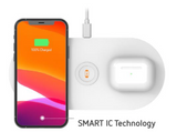 LAB.C 3in1 Fast Charging Wireless Charging Pad 15W
