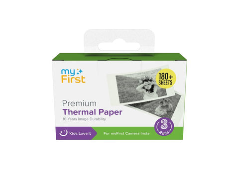 myFirst Camera Insta Thermal Paper Refill (3-pack)