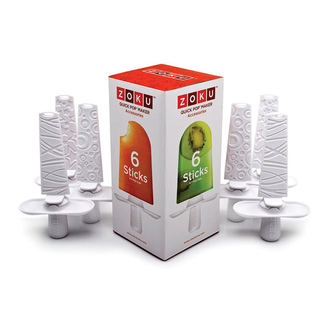 ZOKU Quick Pop Sticks (Set of 6)