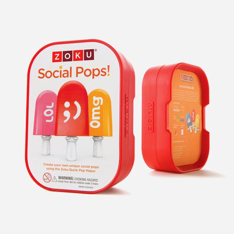 ZOKU Social Pops Accessory Kit