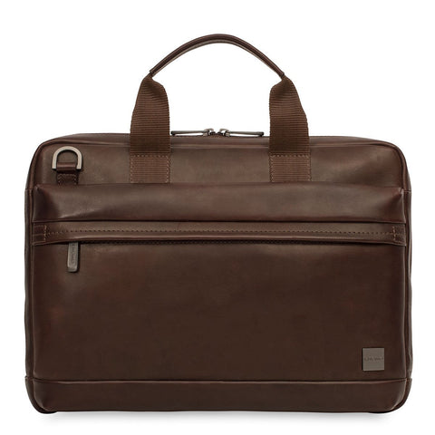 "KNOMO Foster 14"" Laptop Leather Briefcase"