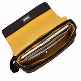 "KNOMO Bungo 15"" Leather Expandable Messenger Bag (RFID)"