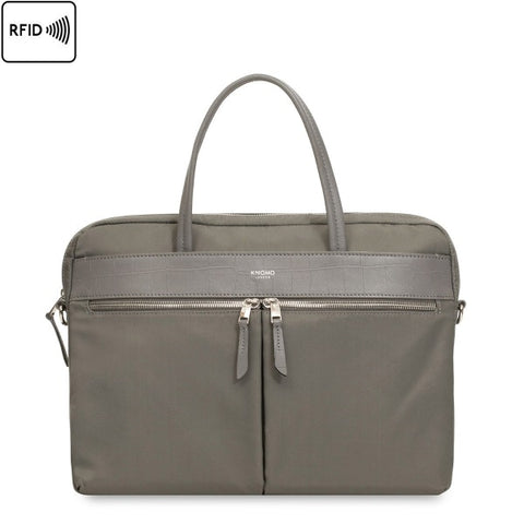 "KNOMO Hanover 14"" Slim Brief Laptop Bag"