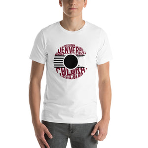 THE CITY - Maroon & Black Colorado T-Shirt