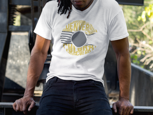 THE CITY - Mustard & Grey Colorado T-Shirt (V-Neck)