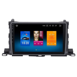 "[open box ] 10.2"" Octa-core Quad-core Android Navigation Radio for Toyota Highlander 2015 2016"