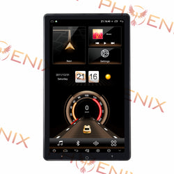 "13.3"" Android 10.0 Universal double din Navigation Radio with Motorized rotatable screen"
