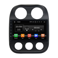 "10.2"" Octa-Core Android Navigation Radio for Jeep Compass 2010 - 2016"
