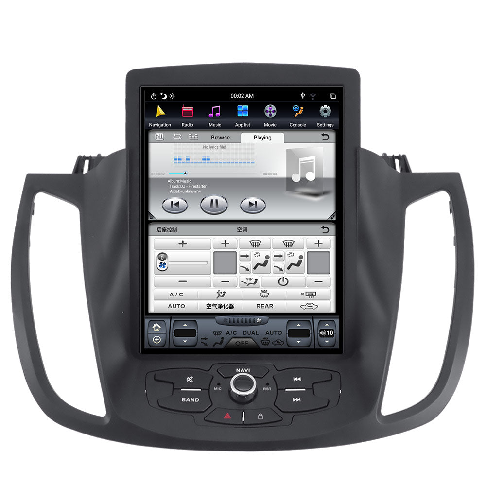 """10.4"""" Tesla-style Vertical Screen Android Navigation Radio"""