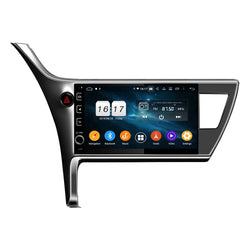 "10.1"" Eight-core Android Navigation Radio for Toyota Corolla Innova Crysta  2016 - 2018"