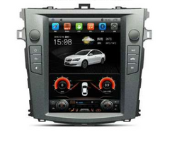 "10.4"" Vertical Screen Android Navigation Radio for Toyota Corolla 2006 2007 2008 2009 2010 2011 2012 2013"