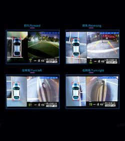 360 Degree Panoramic Advanced Around View Monitoring System Car Camera Recorder DVR